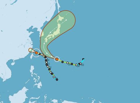 颱風路徑圖_20131006