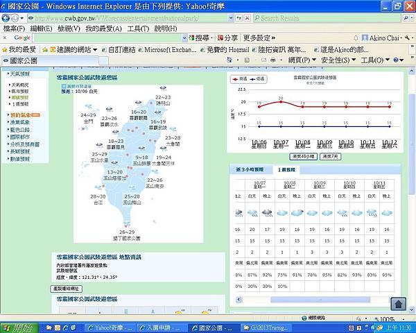 雪霸武陵預測_20131006