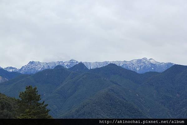 聖稜下雪 20121122