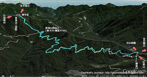 畢祿山map