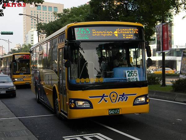 265路區間車  542-FZ(大南)
