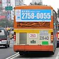 大都會客運2005年普遊車車尾特徵-1