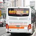 2013臺北客運福田車  車尾特寫