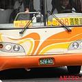 大都會客運2006年三菱款車輛 車頭特寫