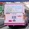 欣欣客運 2006年份五十鈴中型巴士車尾特寫.JPG