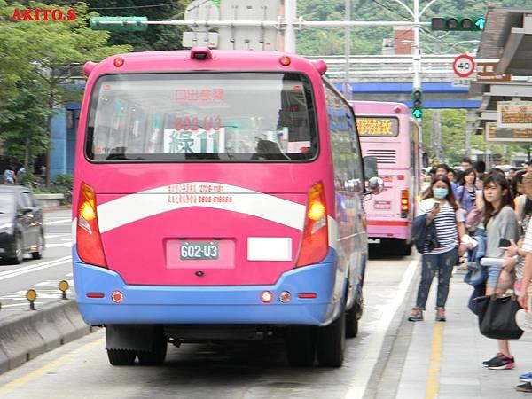 東南客運海格中型巴士 車尾特寫