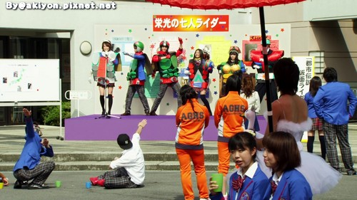 Fourze & OOO Movie -- 12
