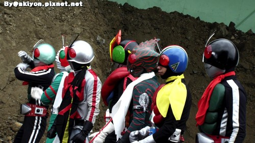 Fourze & OOO Movie -- 11