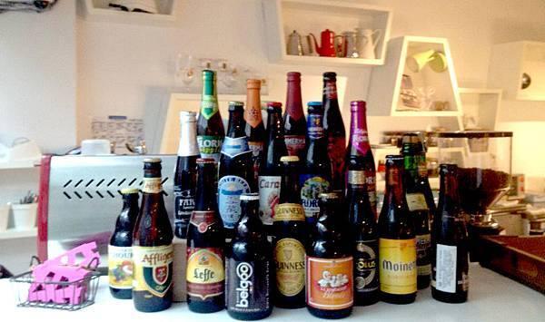 有很多比利時啤酒可以選擇唷
