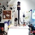 這是導演阿滿的工作桌!