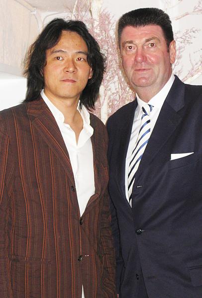 CACA老闆與德國紅點RED DOT的總裁