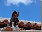 CIMG2303_屋頂上也是到處都有這隻獅子
