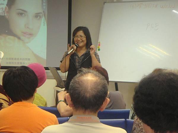 儕瑱台北顏小姐分享自身經驗