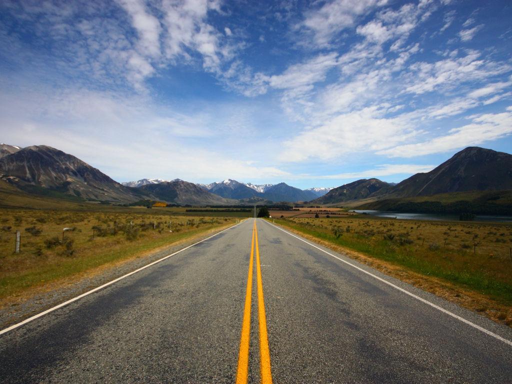 開放的高速公路新西蘭