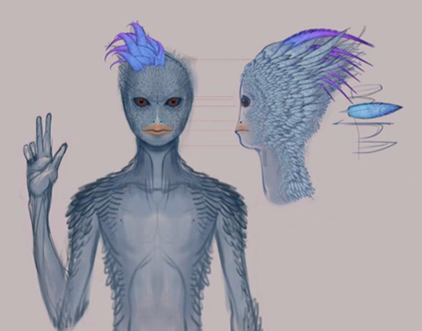 藍鳥人blue avian
