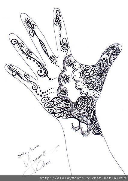 Henna手繪