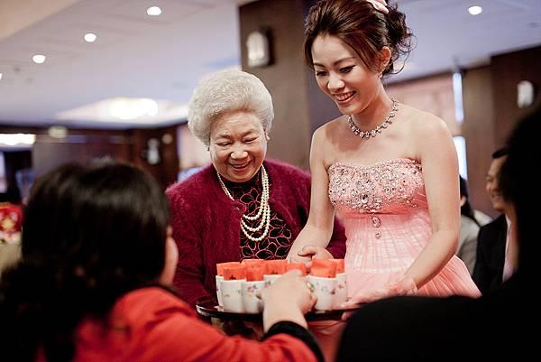 台中婚攝奉茶