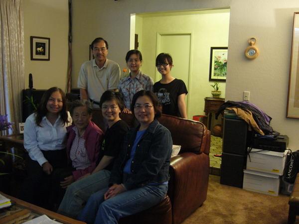 叔叔嬸嬸來三姨媽家