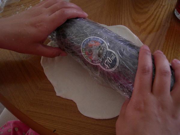 用保溫壺當桿麵棍