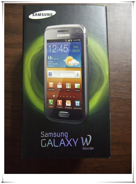 Samsung Galaxy W i8150 智慧型手機