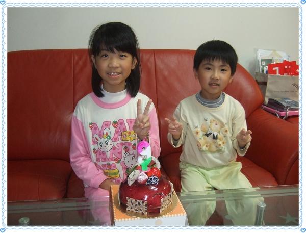 妤蓁九歲國曆生日