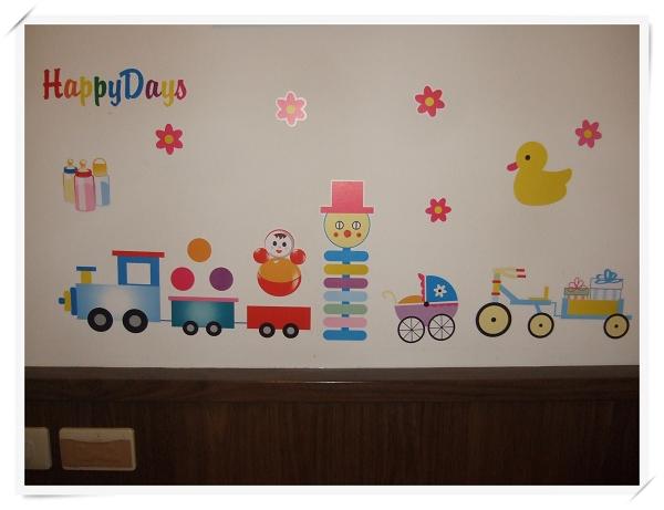 新時尚裝飾組合壁貼(牆貼)4