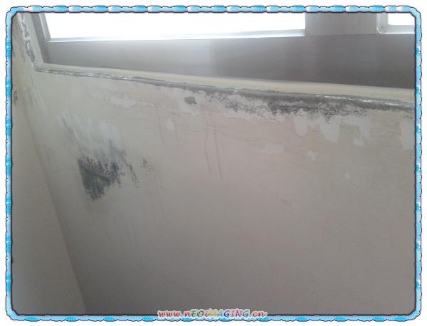 消除壁癌大作戰[立邦5合1平光內牆乳膠漆&日本Asahipen防壁癌噴劑]8
