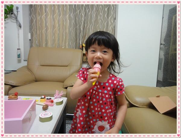 Mother Garden木製粉紅草莓下午茶蛋糕切切樂辦家家酒組11