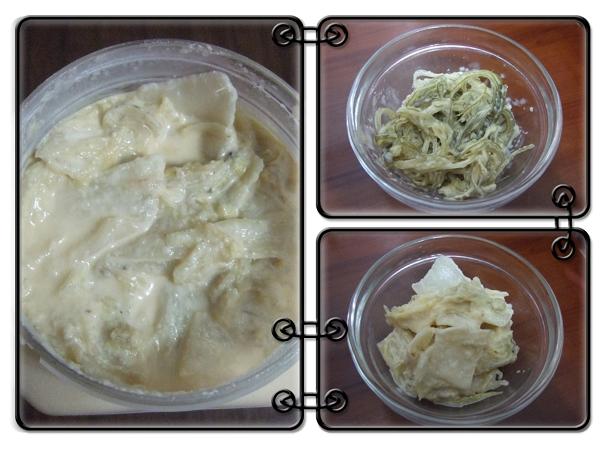 小潘芽片泡菜[鴉片泡菜]&日式海帶絲3