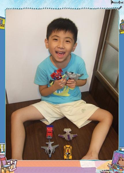 麥當勞兒童餐玩具[變形金剛]1