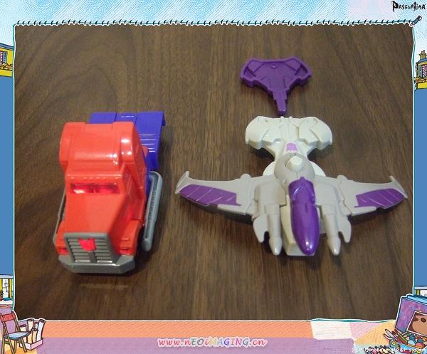 麥當勞兒童餐玩具[變形金剛]8