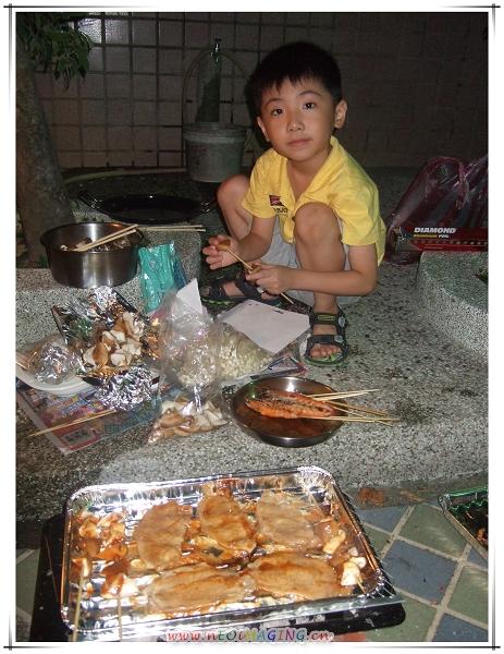 中秋節烤肉趣[台南新化]8