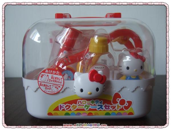 Hello Kitty醫護手提箱組