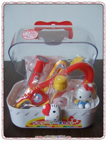 Hello Kitty醫護手提箱組4