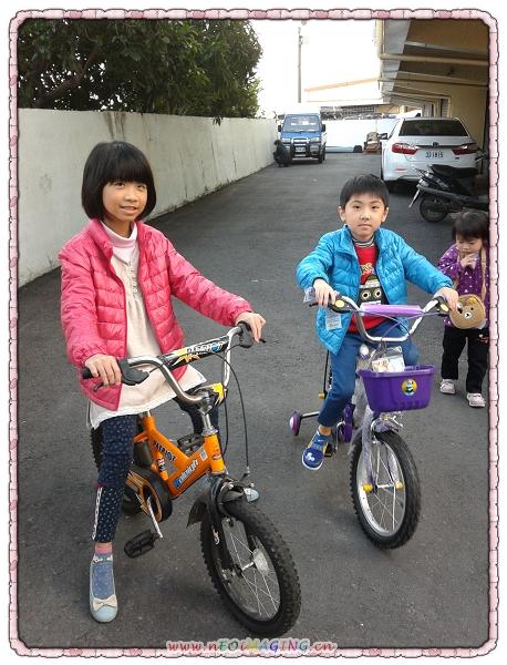 騎腳踏車到處晃1