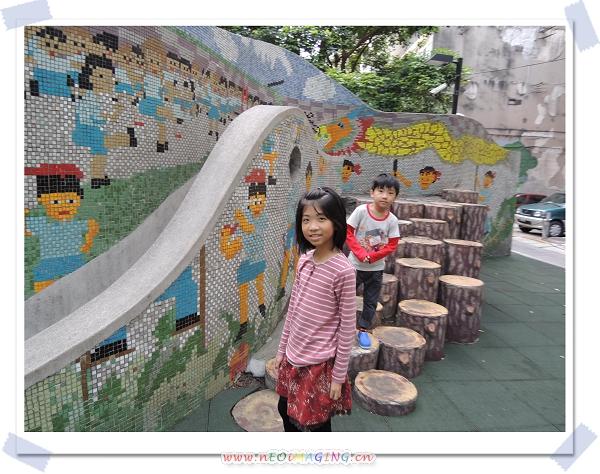 捷運中山站線形公園7