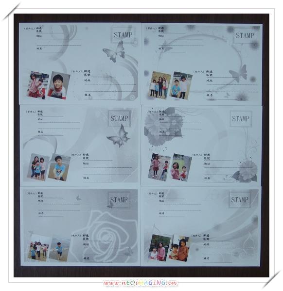 2x3超口愛相片磁鐵&個人專屬明信片[來福彩色沖洗店]9