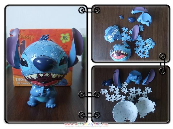Disney 迪士尼 3D 立體球形拼圖18