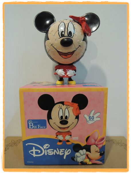Disney 迪士尼 3D 立體球形拼圖20