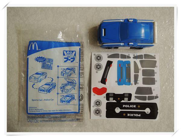 VooV 變身車[麥當勞兒童餐玩具]7