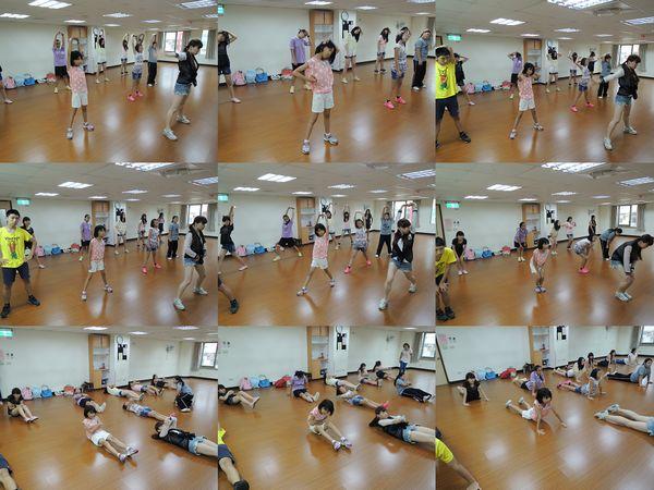救國團青少年流行MV舞蹈課[雙和社會教育中心]2