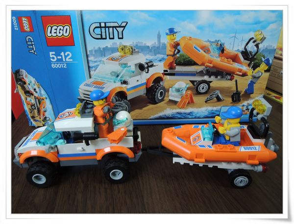 LEGO樂高CITY城市系列60012搜救艇與拖車&4201裝載機和翻斗車[恆宇七歲生日禮物]9