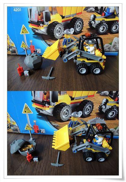 LEGO樂高CITY城市系列60012搜救艇與拖車&4201裝載機和翻斗車[恆宇七歲生日禮物]17