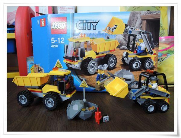 LEGO樂高CITY城市系列60012搜救艇與拖車&4201裝載機和翻斗車[恆宇七歲生日禮物]20