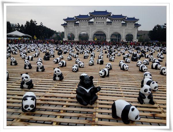「1600貓熊世界之旅—台北」紙貓熊展[中正紀念堂]
