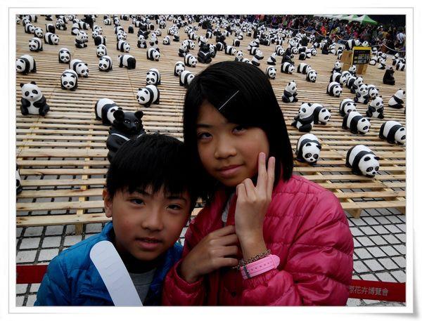 「1600貓熊世界之旅—台北」紙貓熊展[中正紀念堂]3