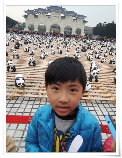 「1600貓熊世界之旅—台北」紙貓熊展[中正紀念堂]4
