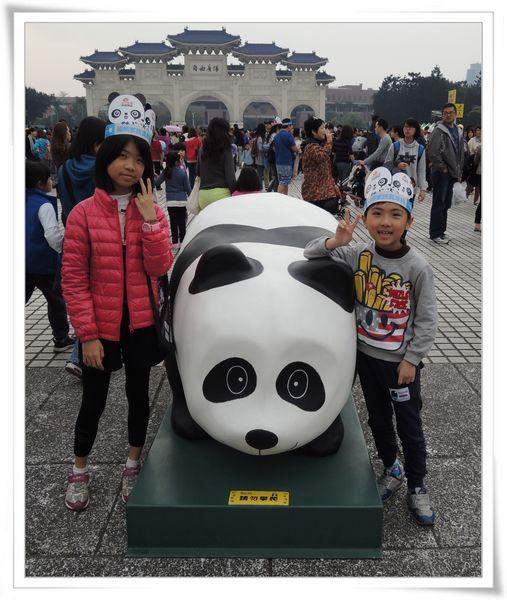 「1600貓熊世界之旅—台北」紙貓熊展[中正紀念堂]10