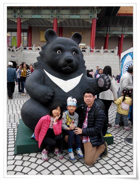 「1600貓熊世界之旅—台北」紙貓熊展[中正紀念堂]11