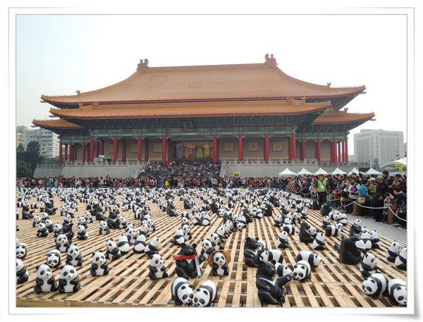 「1600貓熊世界之旅—台北」紙貓熊展[中正紀念堂]12